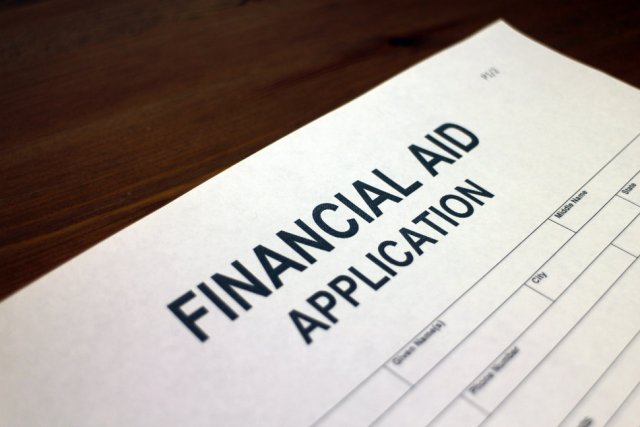 Financial aid application form
