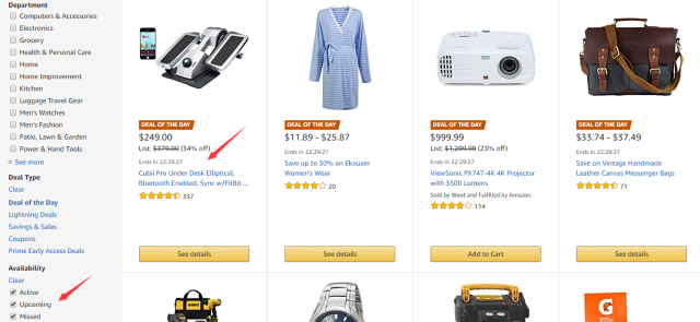 Amazon Deal's of the Day